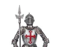 玩具中世纪骑士 免版税库存照片