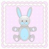 玩具兔子 免版税图库摄影
