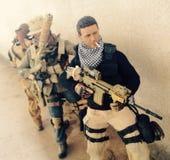 玩具军事模型12inch 免版税库存照片