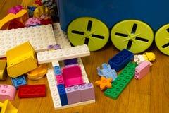 玩具和童年项目品种  图库摄影