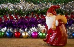 玩具圣诞老人 免版税库存图片