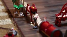 玩具在儿童` s屋子 影视素材