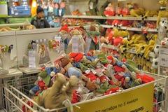 玩具在商店 库存照片