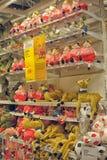 玩具在商店 免版税库存照片