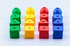 玩具块 免版税库存图片