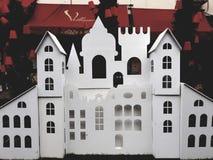 玩具城堡 图库摄影