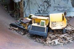 玩具堆土设备 库存照片