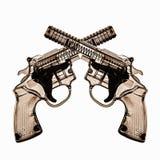 玩具塑料枪 库存图片