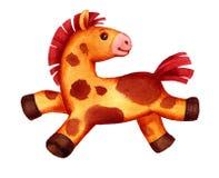玩具小马 免版税库存照片