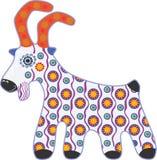 玩具山羊 免版税库存照片