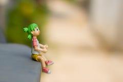 玩具形象梦想想法 免版税库存图片