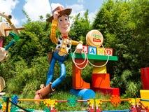 玩具总动员土地 免版税库存图片