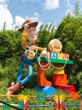 玩具总动员土地 免版税库存照片