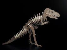 玩具恐龙 库存照片