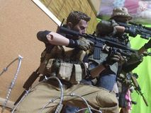 玩具战争战斗机 库存照片
