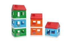玩具房子 库存图片