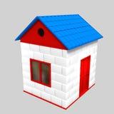 玩具房子 图库摄影