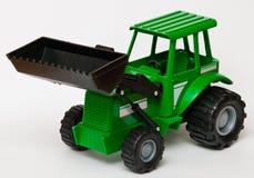 玩具拖拉机 免版税库存照片