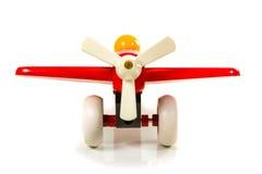 玩具木飞机推进器 库存图片