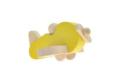 玩具木飞机 库存图片