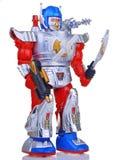 玩具机器人葡萄酒 库存图片
