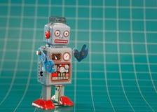 玩具机器人 免版税库存图片