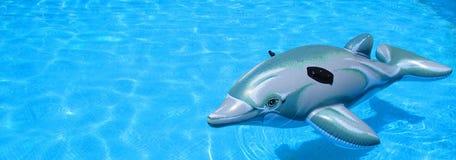 玩具橡胶海豚 库存照片