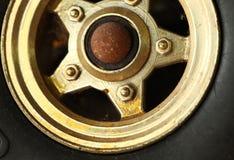玩具汽车场面轮子  库存照片