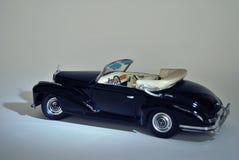 玩具汽车模型奔驰车300S 1955年 库存图片