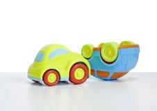 玩具汽车的宏观射击 免版税库存照片