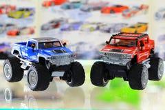 玩具汽车 免版税库存照片