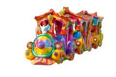 玩具火车。 库存照片