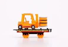 玩具火车&机器 免版税图库摄影