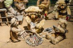 玩具熊博物馆在中国 库存照片