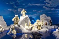 玩具熊博物馆在中国 图库摄影