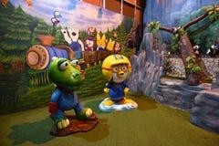 玩具熊博物馆芭达亚 图库摄影