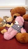 玩具熊坐 库存照片