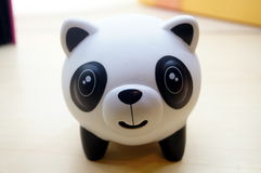 玩具熊猫 免版税图库摄影