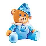 玩具熊的例证 免版税库存照片