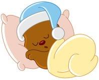 玩具熊睡觉
