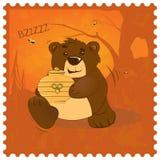 玩具熊窃贼 免版税库存照片
