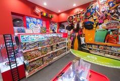玩具现代IPark购物中心的,汉城工厂商店 免版税库存照片