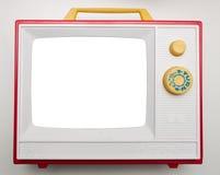 玩具电视 免版税库存照片