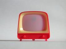 玩具电视 免版税库存图片