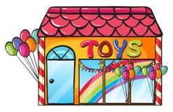 玩具界面 皇族释放例证