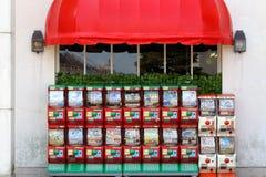 玩具自动售货机  库存照片
