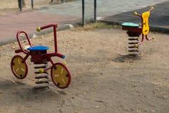 玩具自行车 免版税库存图片