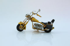 玩具葡萄酒摩托车 库存图片
