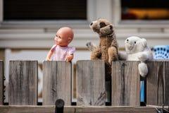 玩具观看 免版税库存图片