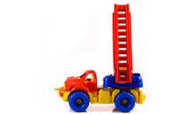 玩具起重机 免版税库存照片